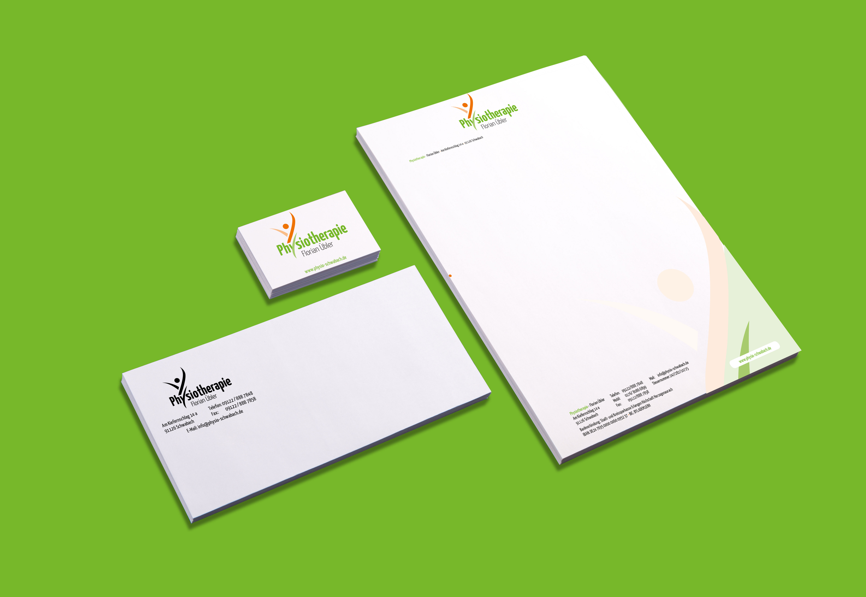 Block, Kuverts und Visitenkarten