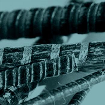 Detailaufnahme Carbonstäbe