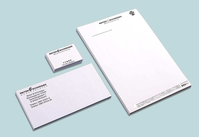 Geschäftsausstattung im Corporate Design