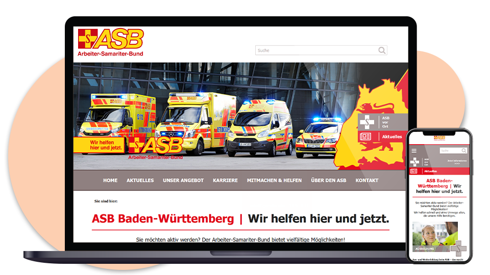 ASB BW Webseite