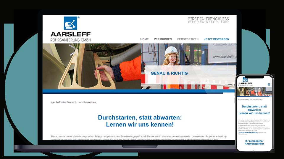 Aarsleff Landingpage Karriere