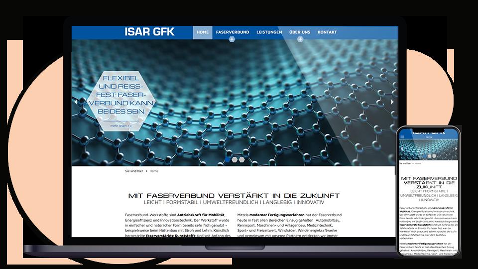 ISAR GFK Webseite