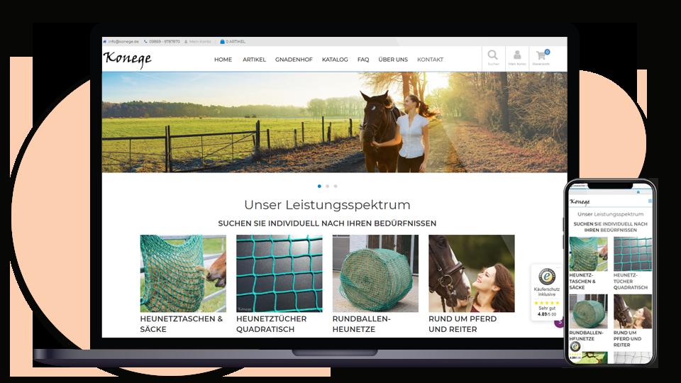 Konege-Heunetzte-Webseite