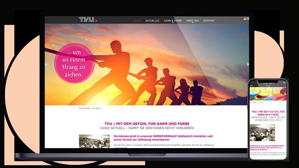 TVU Webseite