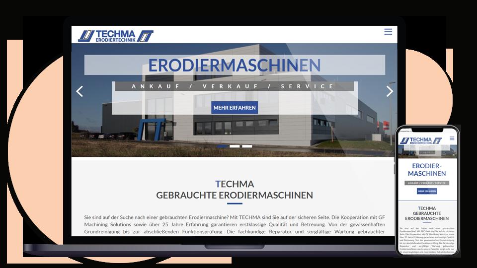Techma-neue-Webseite