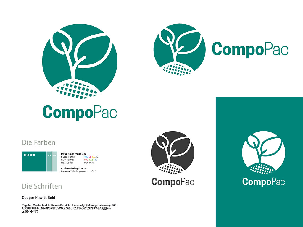 CompoPac Logo Varianten