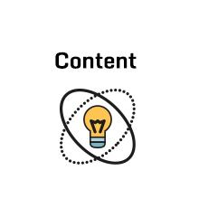 Icon mit Glühlampe