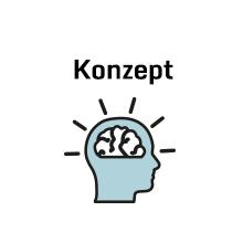 Icon mit Kopf